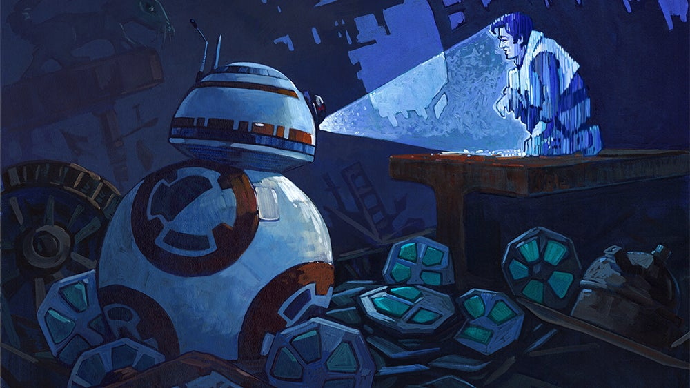 Fall In Love With BB-8 All Over Again With These Beautiful Paintings
