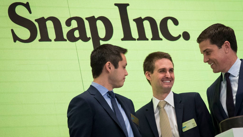 The Highest-Paid CEO In The US Reportedly Decided To Screw Up Snapchat All By Himself