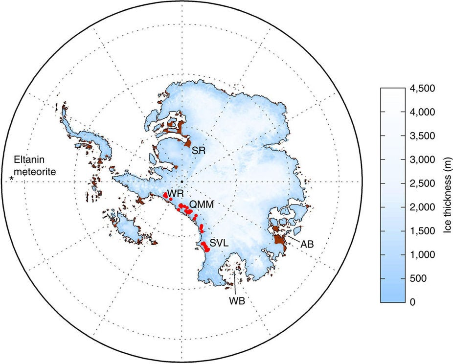 Tiny Fossils Suggest Antarctica's Largest Ice Sheet Could Collapse