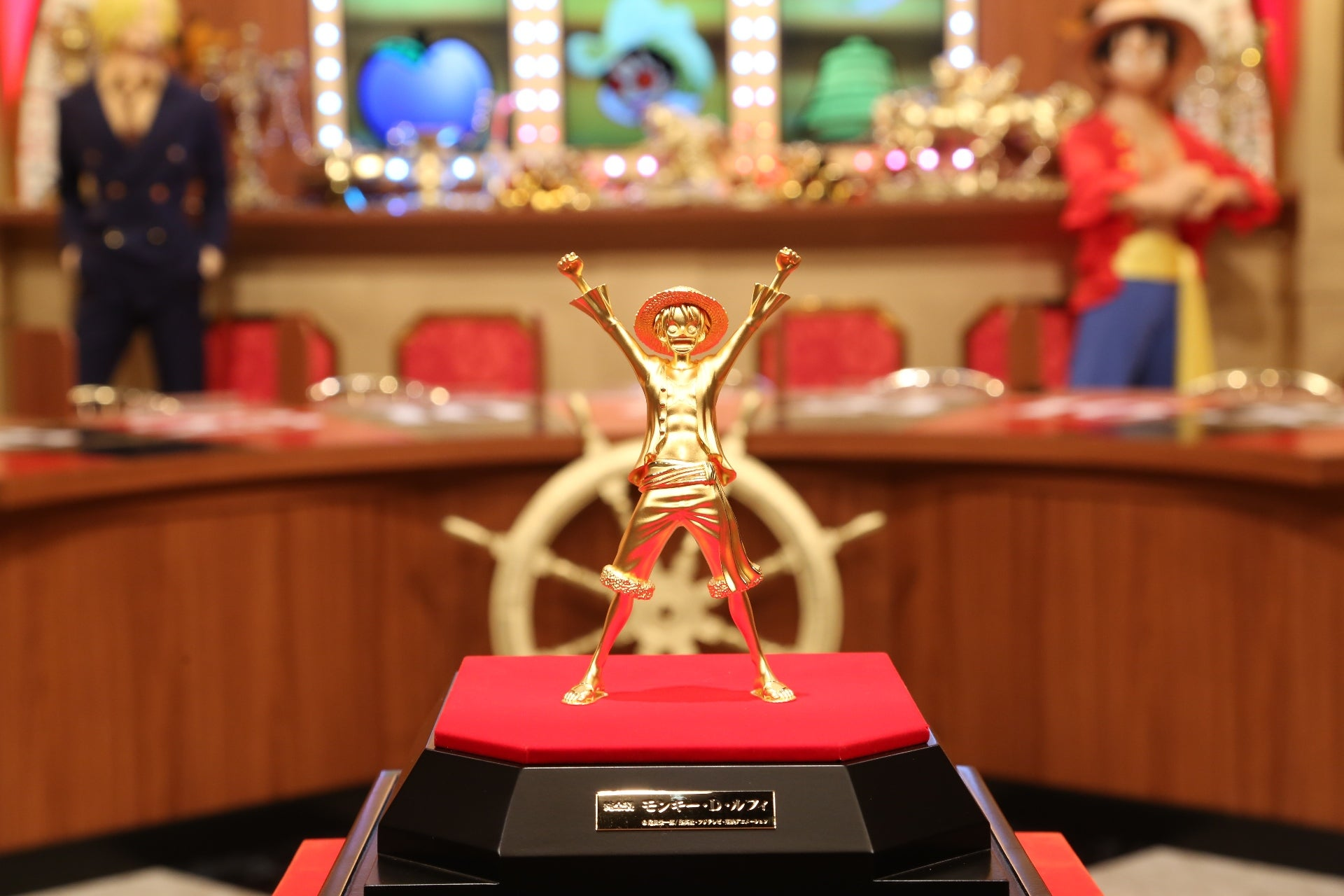 Golden One Piece Statue Costs $250,000