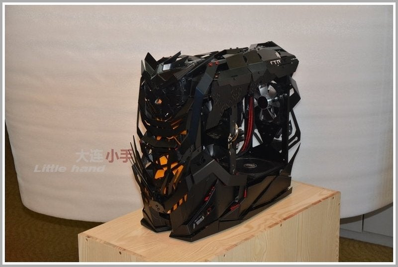 Custom Steel PC Case Looks Like A Weird Transformer