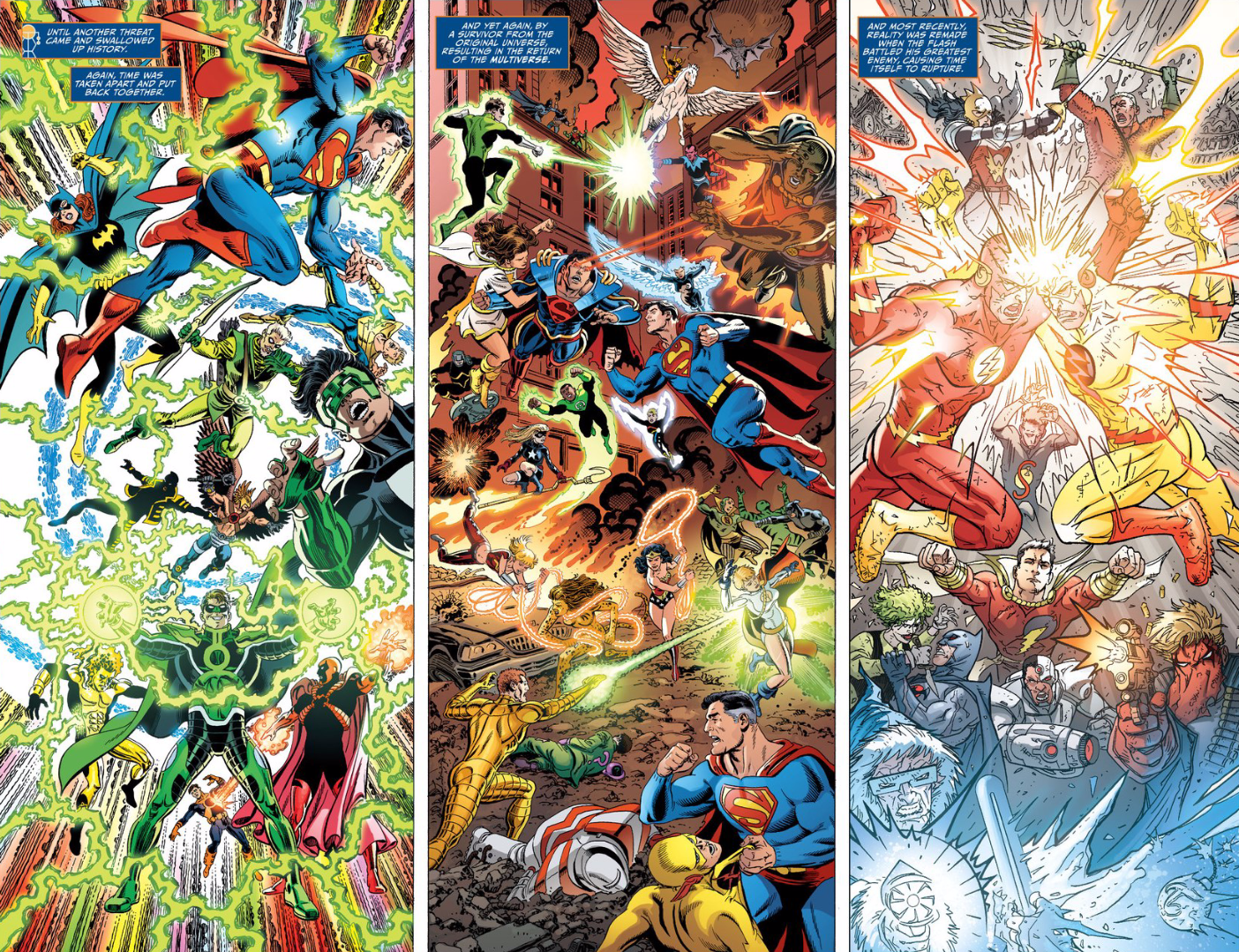 DC Comics (Sort of) Admits They Reboot Their Universe Too Damn Much
