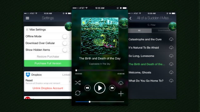 Vibe Cloud Music Player Plays Your Music From Dropbox And Google Drive