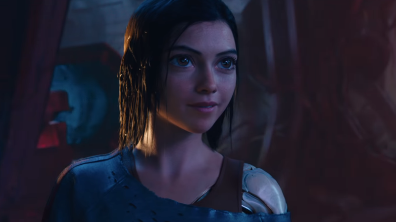 The Giant Eyes Of Alita: Battle Angel Are A Little Less Creepy In Its New Trailer