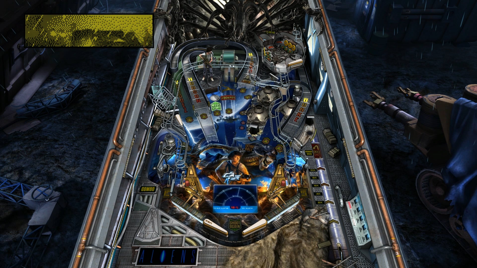 Aliens Is Not Nearly As Scary In Pinball Form