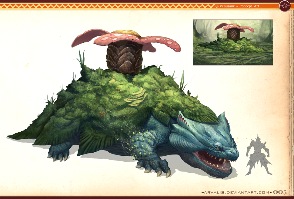 Pokémon, As Giant Beasts From Monster Hunter