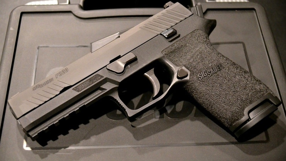 Surprise, This Sig Sauer Pistol That 'Won't Fire Unless You Want It To' Fires When You Drop It