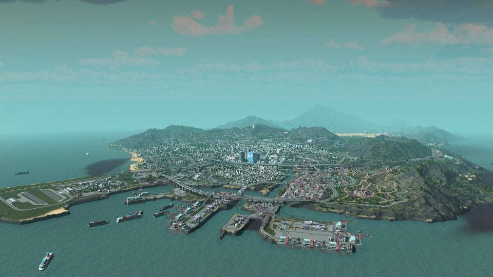 Someone Recreated GTA V's Los Santos In Cities: Skylines