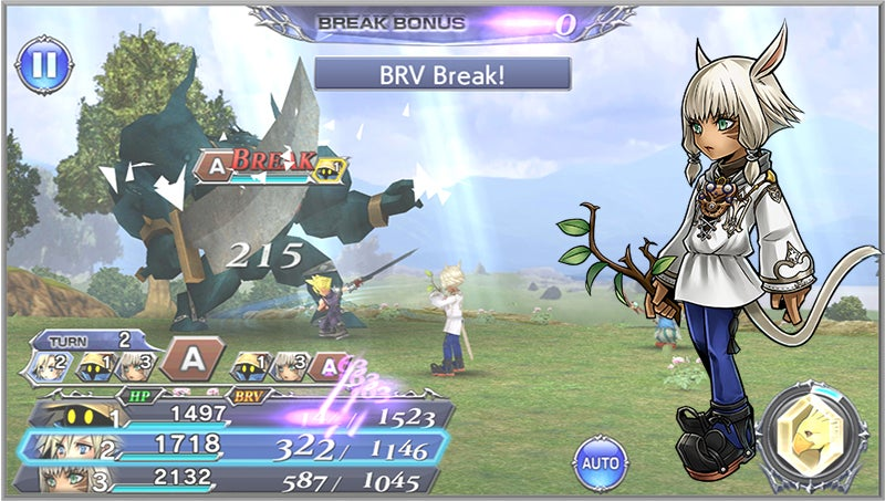 Dissidia Final Fantasy's Mobile Spin-Off Is So Cute