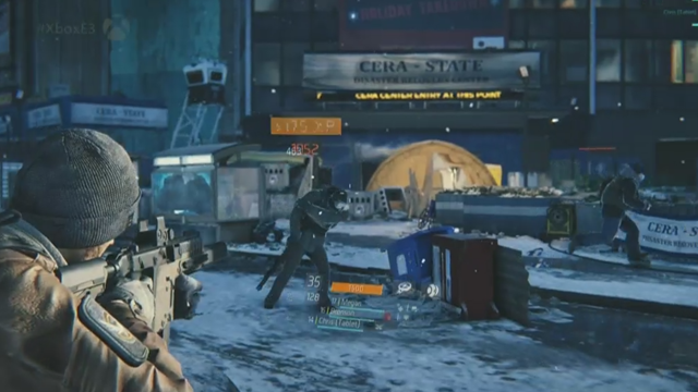 Five Minutes Of The Division's Snazzy Multiplayer