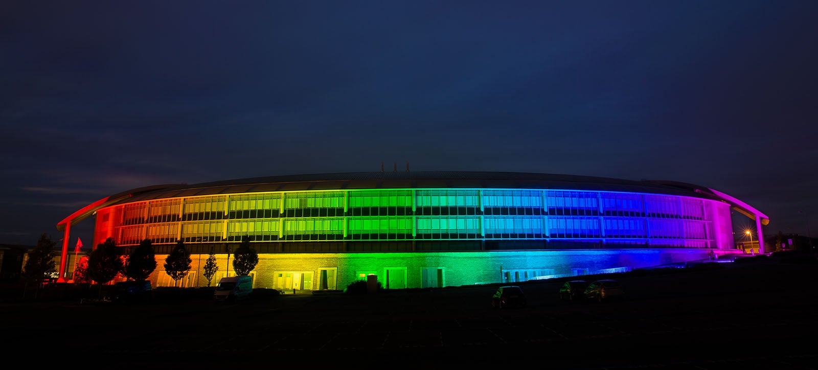 British Spy HQ Goes Rainbow To Celebrate Diversity