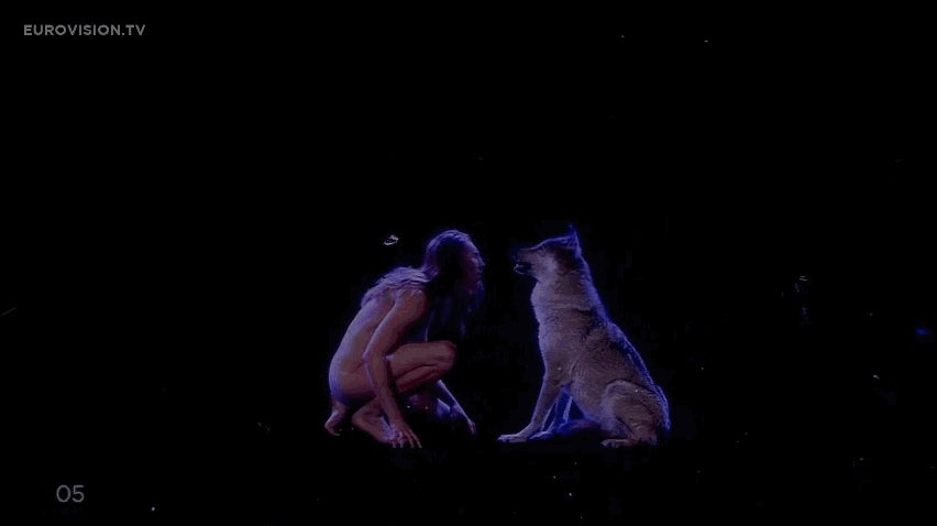 Please Make a Superhero Origin Story Out of the Naked Wolf Man Eurovision Performance