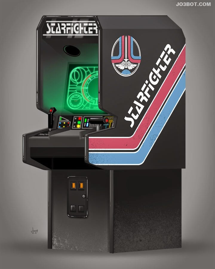 If the Arcade Game from Tron Existed, It'd Look a Lot Like This