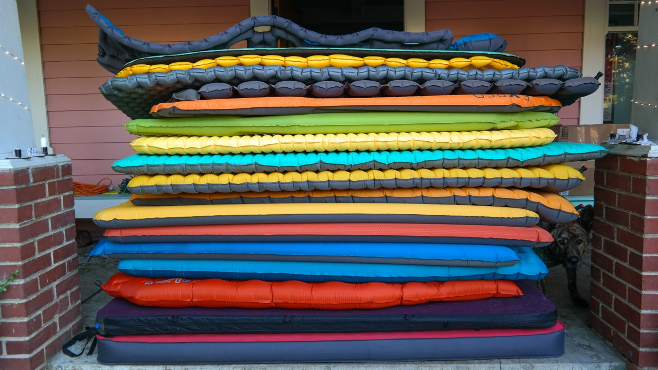 Outdoor Sleeping Pad Comparison Data