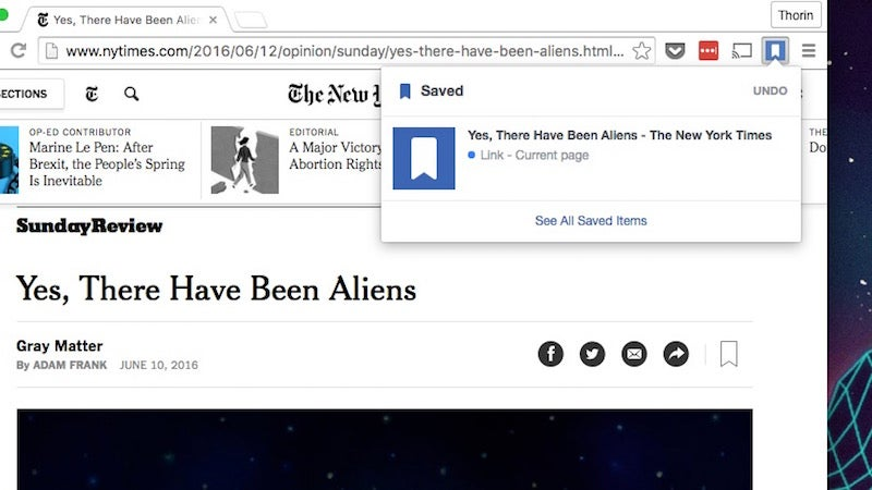 Facebook's New Save And Share Chrome Extensions Offer One-Click Bookmarking And Sharing