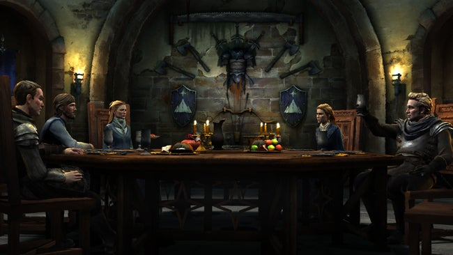 Nothing Traumatising Happens In Telltale's New Game Of Thrones Screens