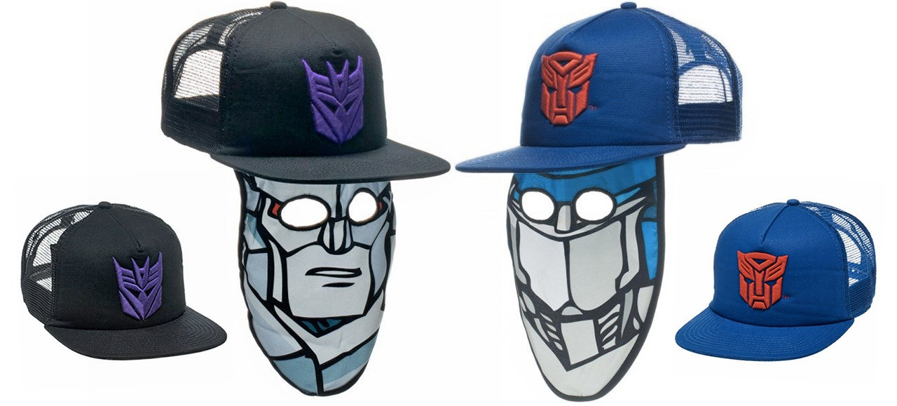 A Transformers Trucker Hat Mask Is the Easiest Halloween Costume