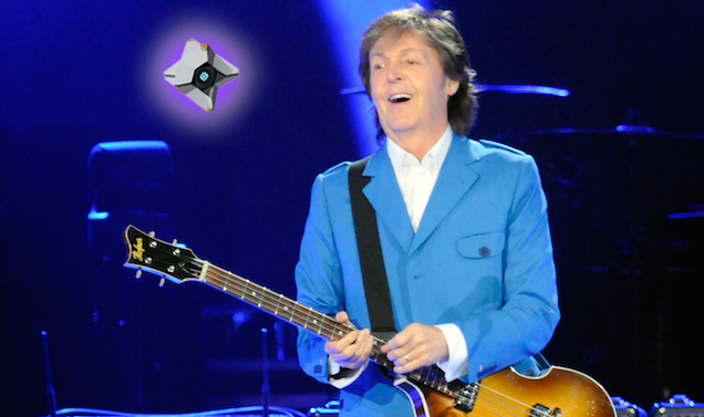 Paul McCartney's Destiny Theme Song Is Pretty Silly
