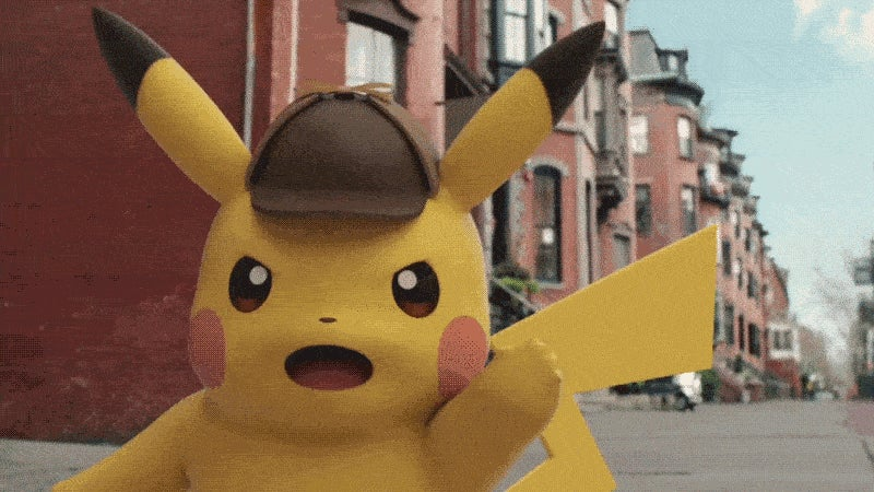 First Look at the Talking Pikachu Detective Game in Action