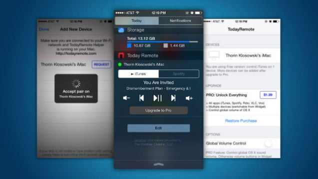 control your iphone from your mac