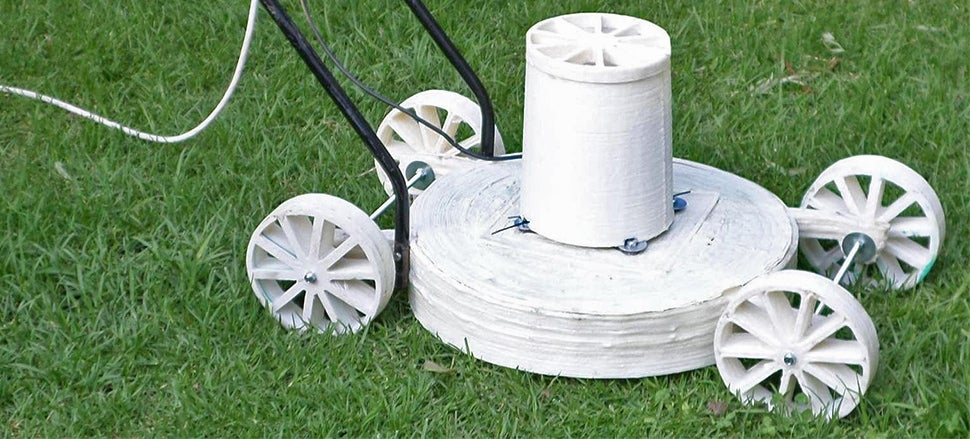 3D Printing Your Own Lawn Mower Sounds Like a Great Idea Until It Fails