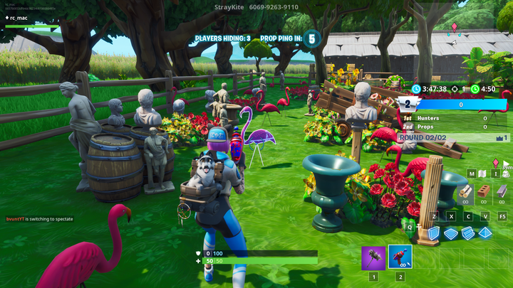 New Fan Mode Brings The Silliness Of Prop Hunt To Fortnite