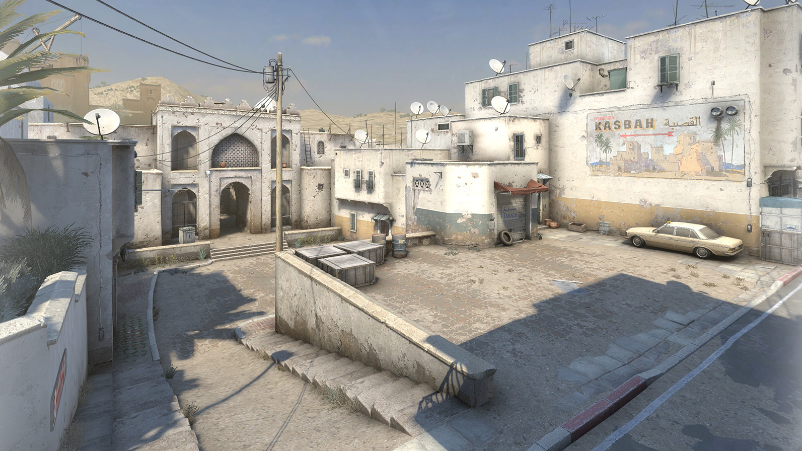 A ClassicCounter-StrikeMap Is Back In Competitive Rotation