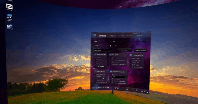 The Coolest New VR App Wraps Your PC Desktop Around You