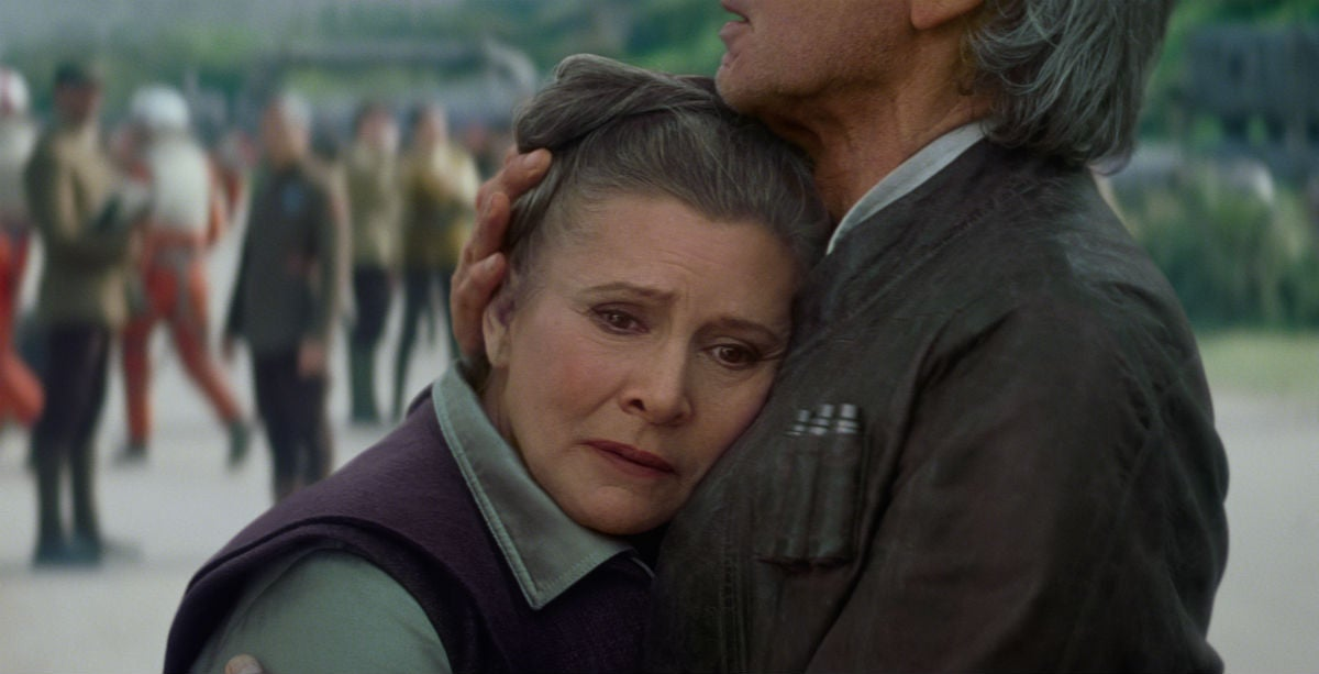 Carrie Fisher Had Already Completed Her Work On Star Wars: Episode VIII