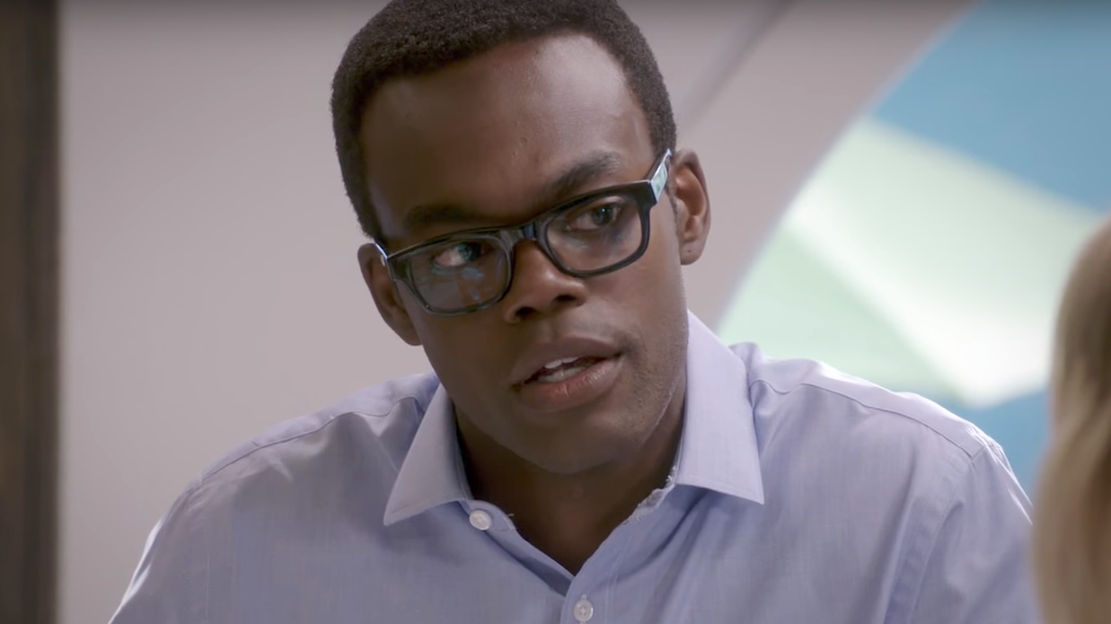 William Jackson Harper Has One Last Good Place Lesson In The Form Of Chidi's Full Kierkegaard Rap