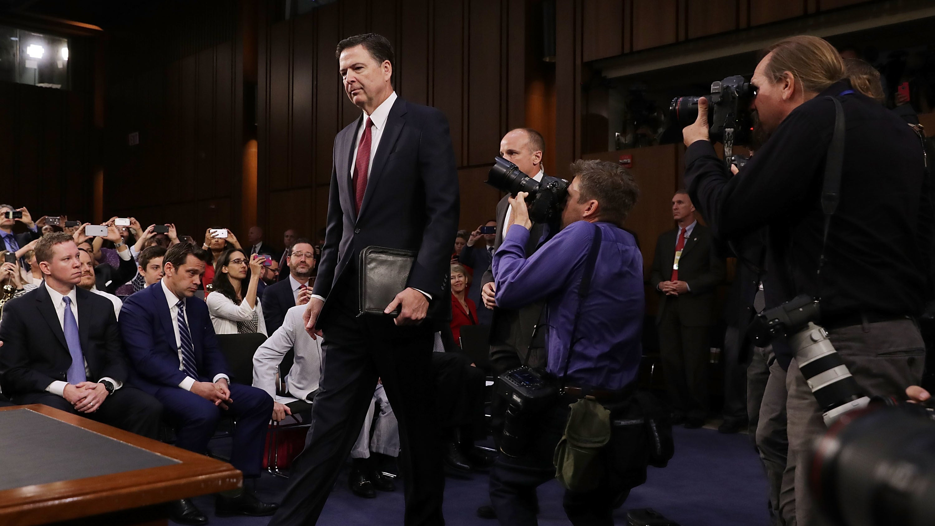 House intel panel demands 'Comey tapes' as Trump razzes on their existence