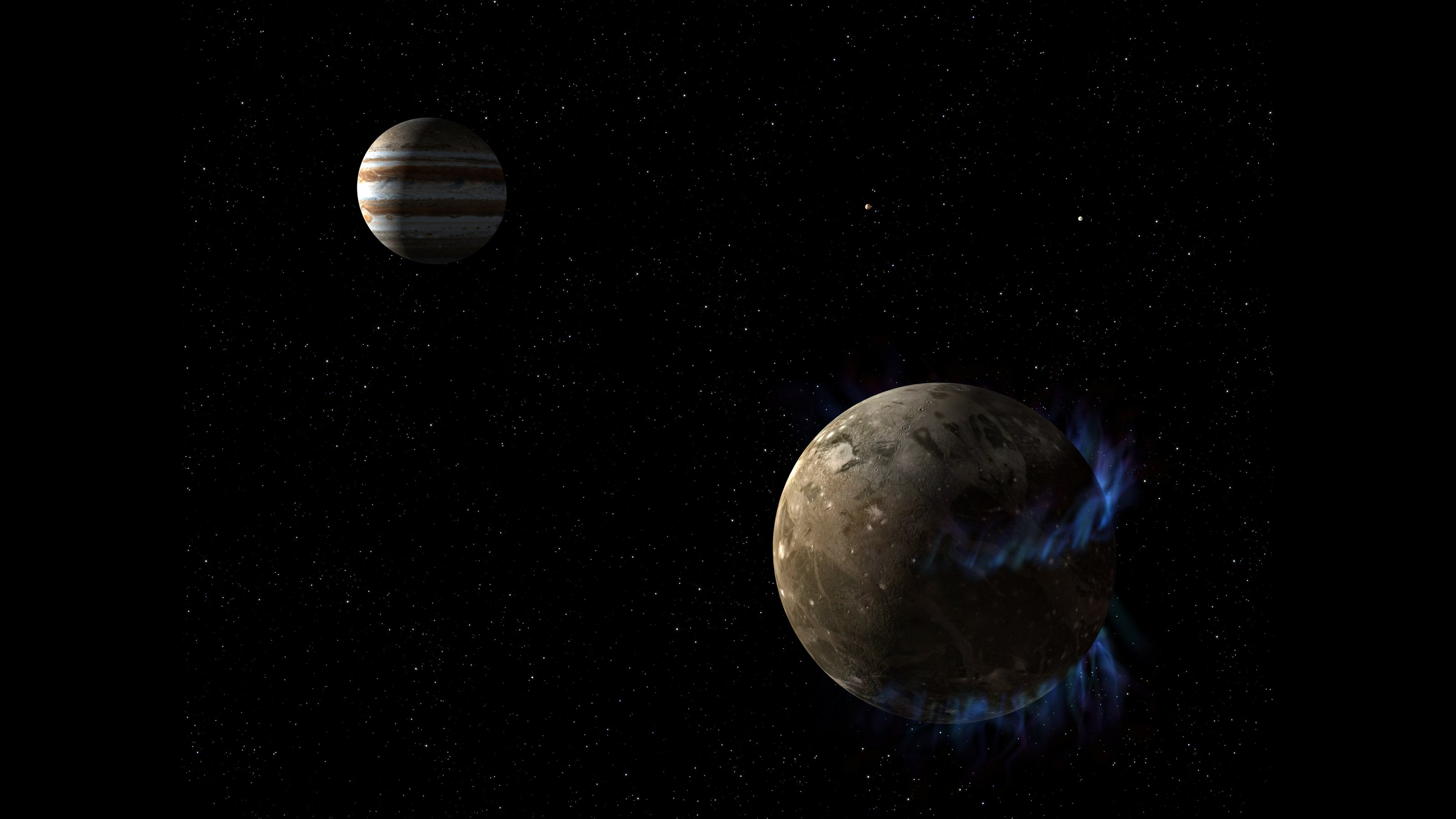 Jupiter's Moon Ganymede Generates Incredible Magnetic Waves
