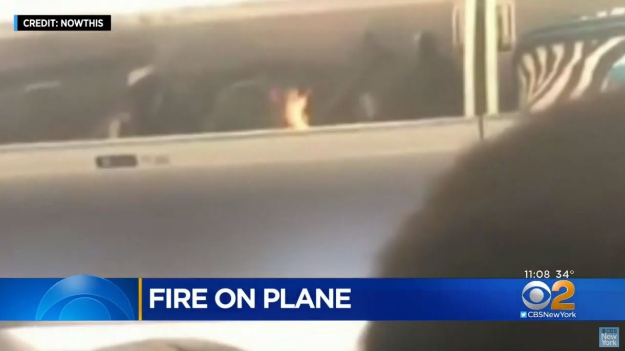Delta Flight Delayed After Vape Battery Reportedly Bursts Into Flames