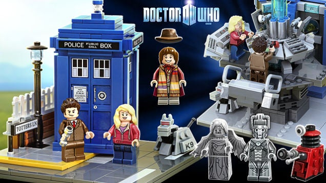LEGO Doctor Who Is Officially A Real Thing