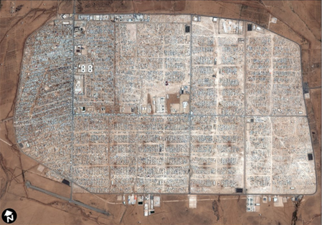 This Syrian refugee camp has transformed into a city of 85,000