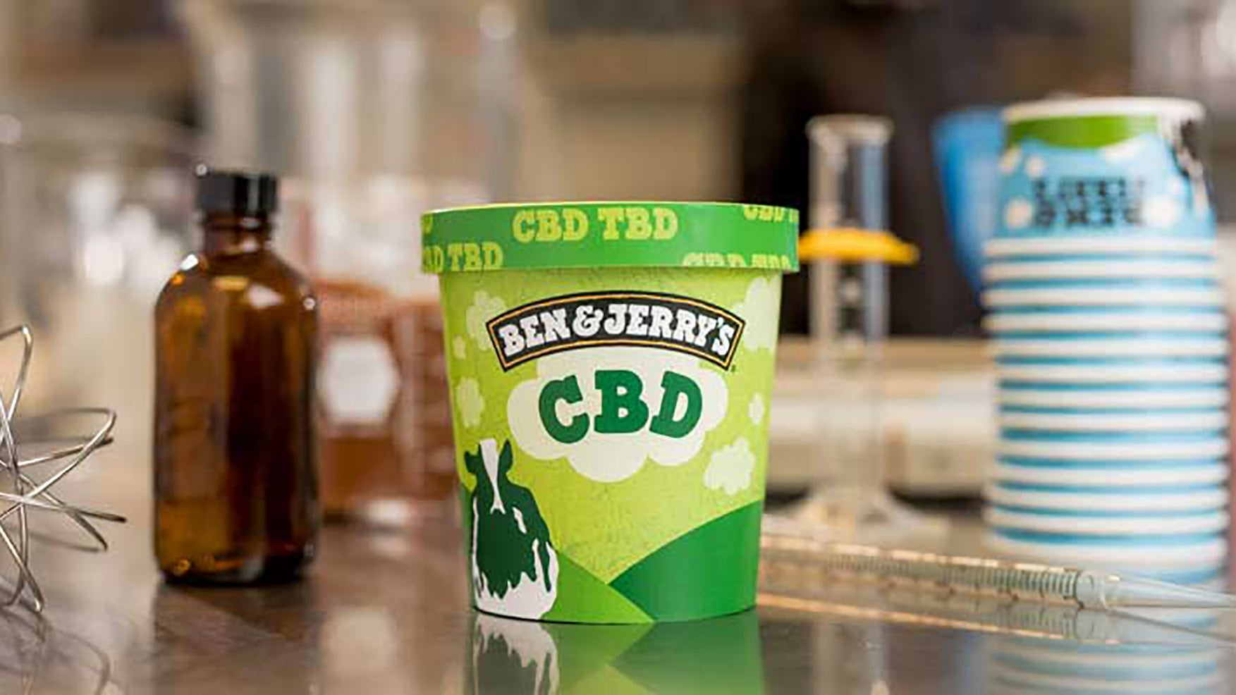 Ben & Jerry's Hopes To Stay Incredibly On-Brand With CBD Ice Cream