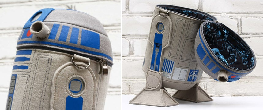 Ditch Your Shoulder Bag For This Felted R2-D2 Carry-all