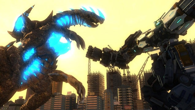 Earth Defence Force Punches Kaiju in the Face