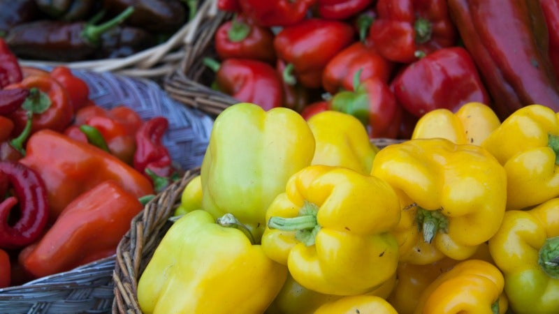 Peel Capsicums For Silky, Smooth Texture Without Roasting