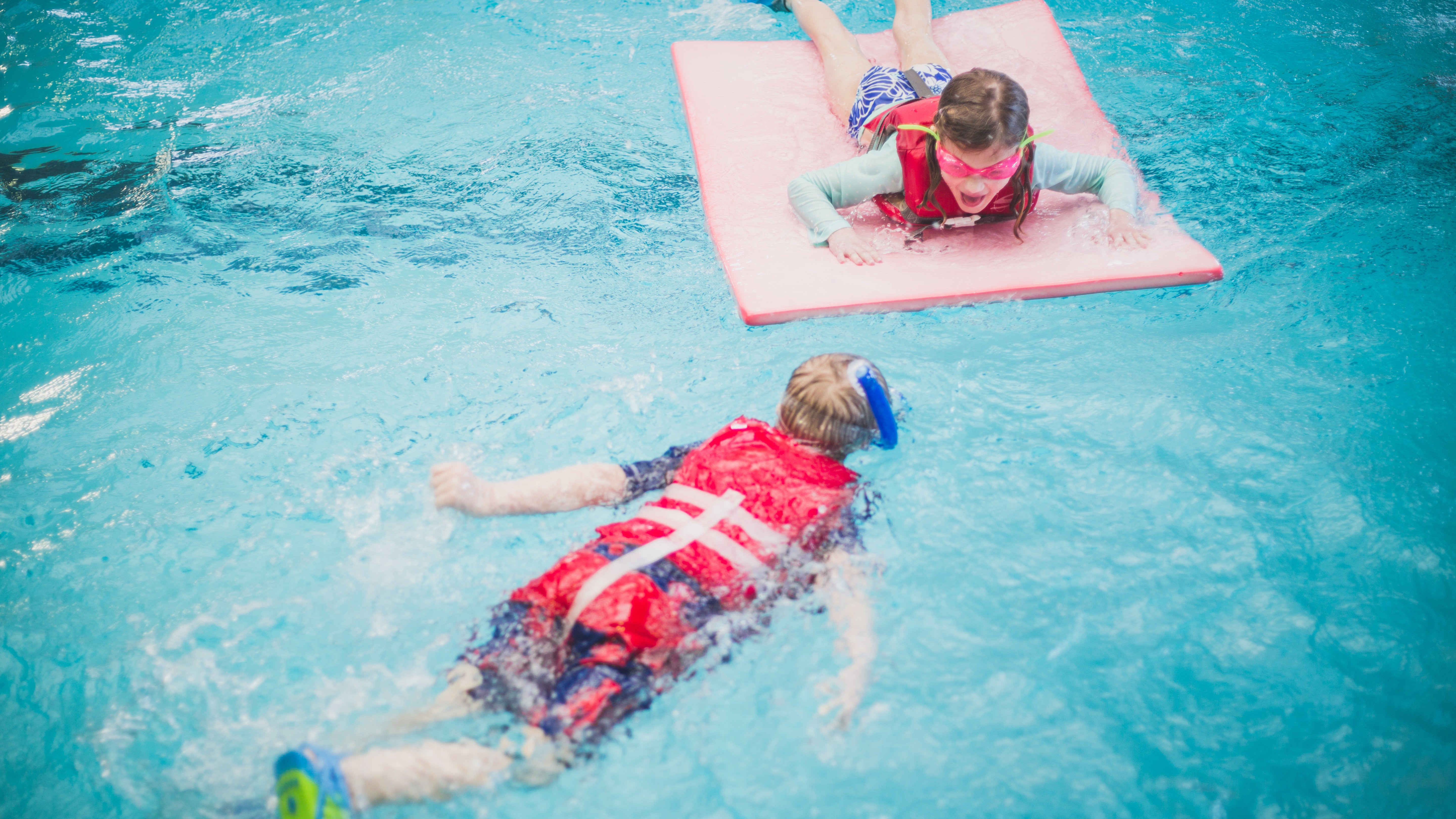 Keep Kids Safe In The Pool With A Life Jacket Party