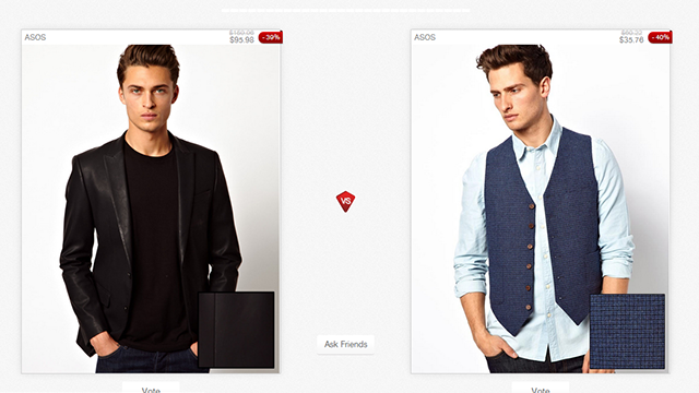 PicVpic Compares Clothing Styles with Side-by-Side Voting