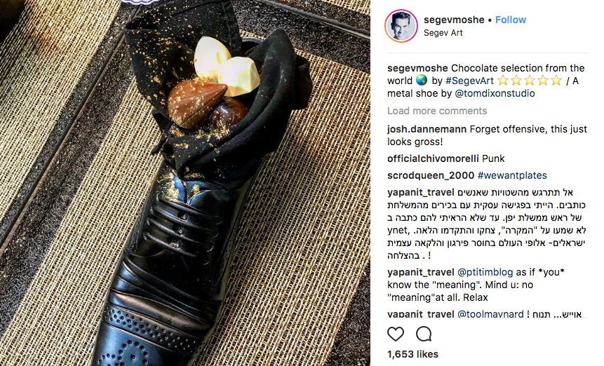 Japanese Reaction To Israel Serving Its Prime Minister A Shoe With Chocolate