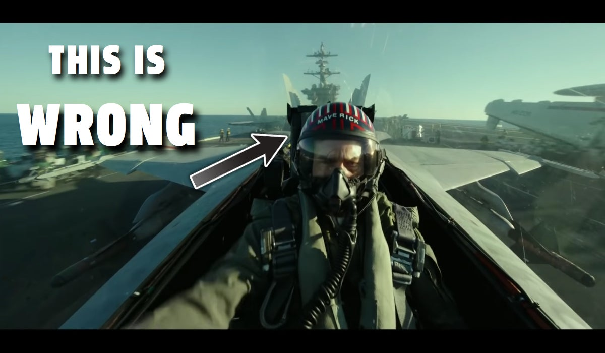 Here Are All The Screw Ups In The Top Gun: Maverick Trailer Already