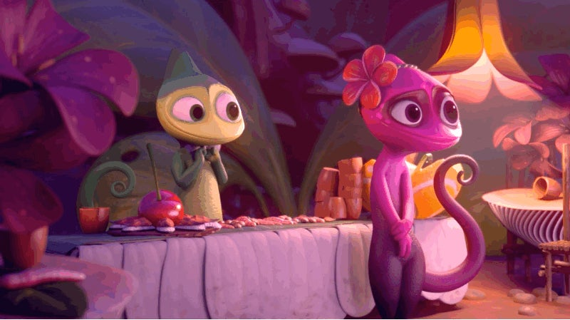This Animated Short About a Chameleon Shows the Perils of Blending In