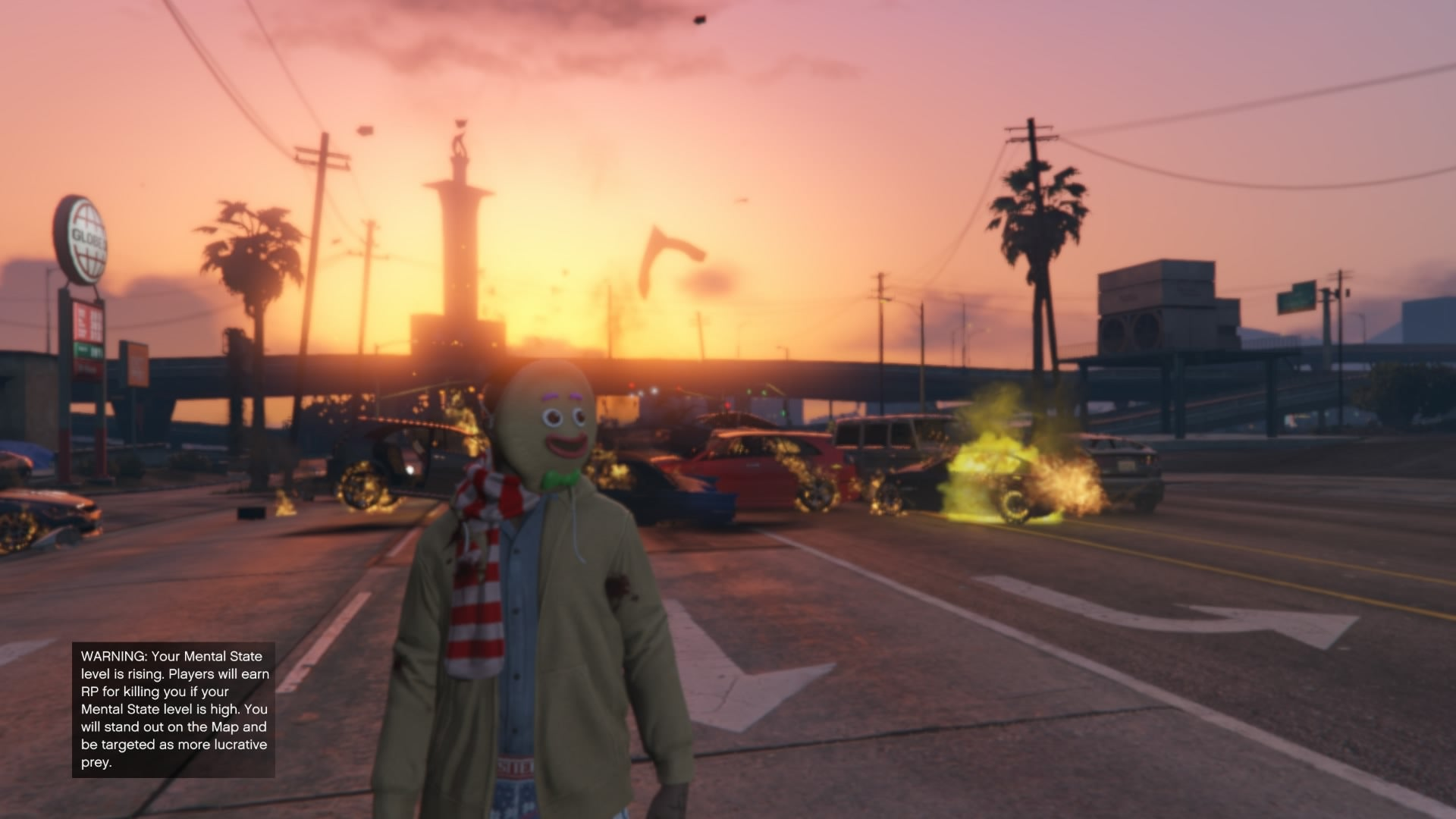 GTA Online's Gingerbread Mask Makes Everything Better