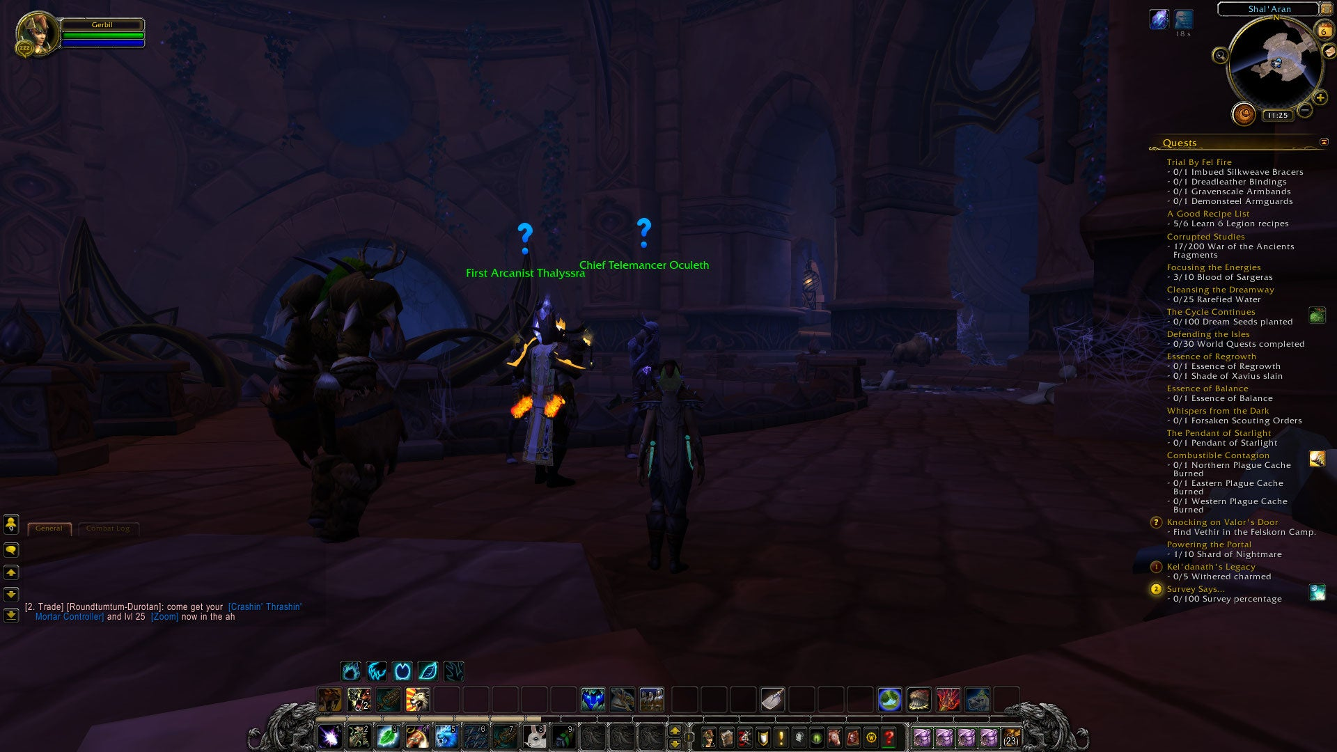 Hitting world of warcraft legions level cap is only the beginning also kicking in at level 110 are world quests these are a new type of player versus enemy content in world of warcraft quests that spawn throughout the aloadofball Choice Image