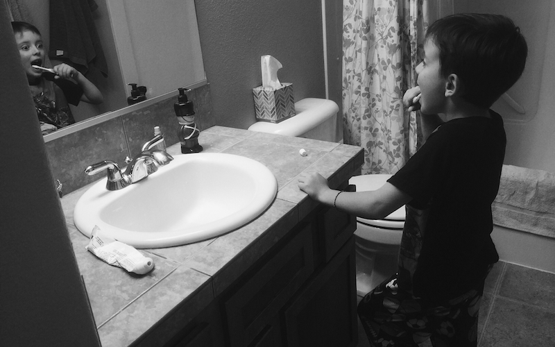 Turn Toothbrush Time Into Story Time