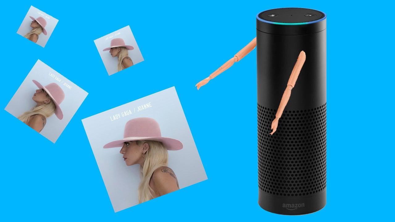Amazon Echo Leaks Clip From Lady Gaga's New Album
