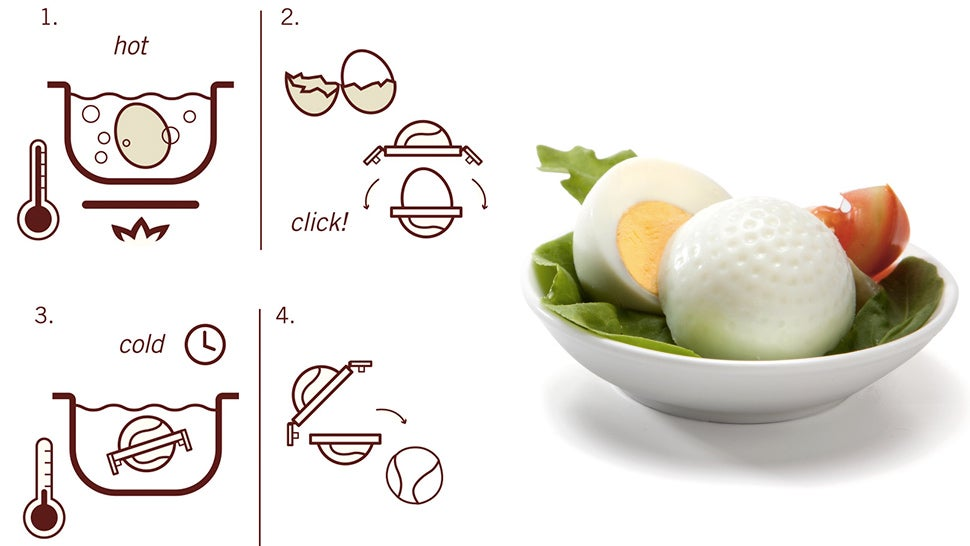 Eggs Shaped Like Golf Balls Mean It's Finally OK To Play With Your Food
