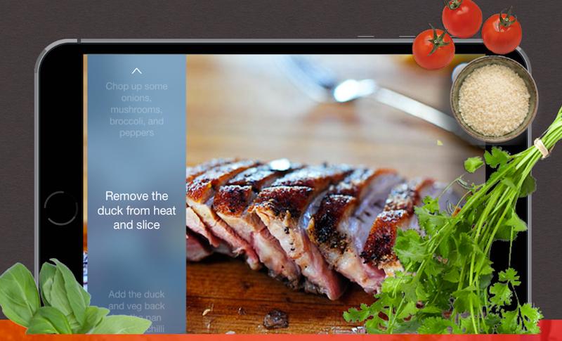 Napkin Talks You Through Recipes So You Can Focus On Cooking